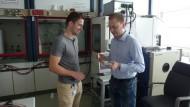 Bernhard Bitzer, 30, Entwicklungsingenieur im Bereich Charakterisierung Hochvolt-Batteriesysteme, Daimler AG