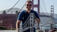 Silvio Tannert vor der Golden Gate Bridge: Eine Autostunde von hier entfernt arbeitet der 32-Jährige im Silicon-Valley-Office von McKinsey in Palo Alto.