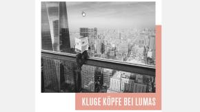 Kluge Köpfe-Kampagne der F.A.Z. bei LUMAS