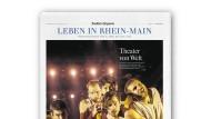 """Die Seiten """"Leben in Rhein-Main"""" der Frankfurter Allgemeinen Zeitung erscheinen in neuer Form"""