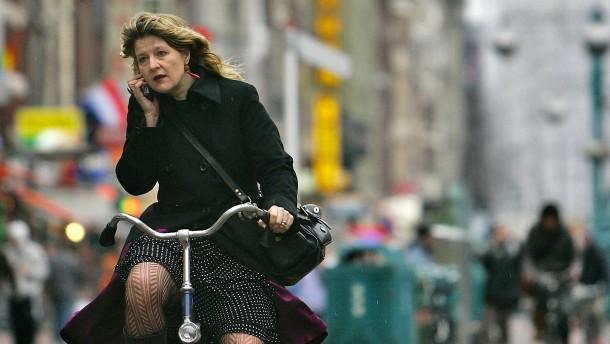 Eine Fahrradtour durch Amsterdam