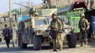 Streitkräfte gehen gegen Taliban in Kundus vor