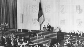 Konstituierende Sitzung des Bundestages 1949