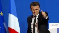 Macron gegen Le Pen in der Stichwahl