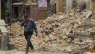Schweres Nachbeben in Nepal