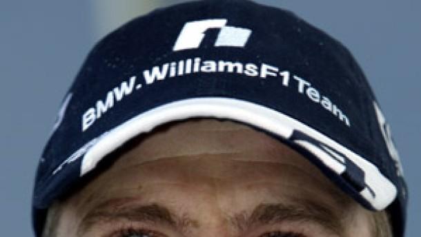 Ralf Schumacher mit viel Glück im Unglück