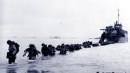 Am. 6. Juni 1944 landeten die Alliierten in der Normandie.