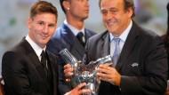 Messi ist Europas Fußballer des Jahres