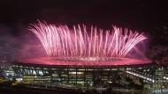 Olympische Spiele enden mit Spektakel