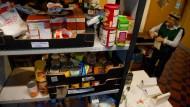 Abhängig von der Essensausgabe - für viele Briten Alltag