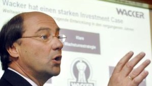 Wacker will hohe Kurse am Aktienmarkt nutzen