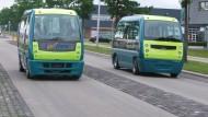In Frankreich brauchen Busse keinen Fahrer