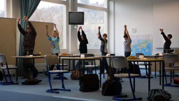 Die erste Schulstunde nach der Insolvenz