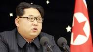 Abermaliger Raketentest in Nordkorea gescheitert