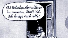 Karikatur / Greser & und Lenz / Google-Street-View