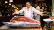 600.000 Euro für einen Thunfisch in Tokio