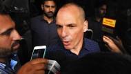 Viele Griechen traurig über Rücktritt von Varoufakis