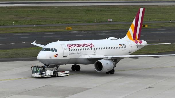 Streik über Silvester bei Germanwings
