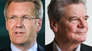 Wulff gegen Gauck