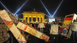 Deutschland und die Welt feiern ein rauschendes Freiheitsfest