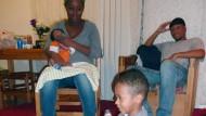 Familien ohne Zuflucht