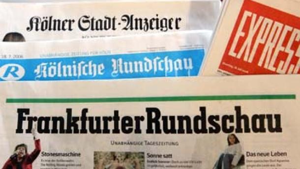 "Kartellamt genehmigt Übernahme der ""Frankfurter Rundschau"""