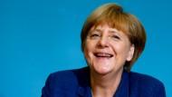Merkel ist glücklich über Halbfinale