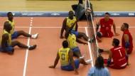 Landminen-Opfer werden Volleyball-Champions