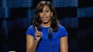 Michelle Obama sorgt für Sturm der Begeisterung
