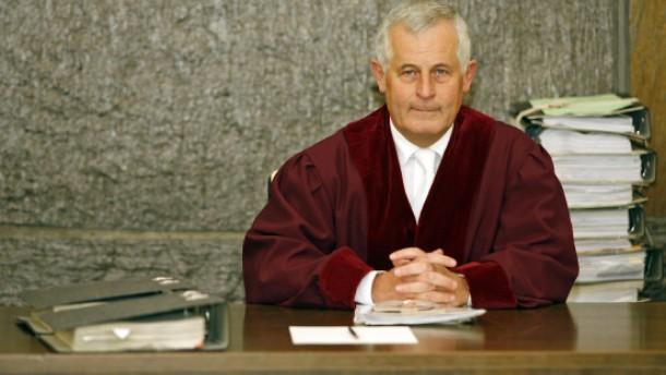 """BGH-Präsident Tolksdorf kritisiert """"Deals"""""""