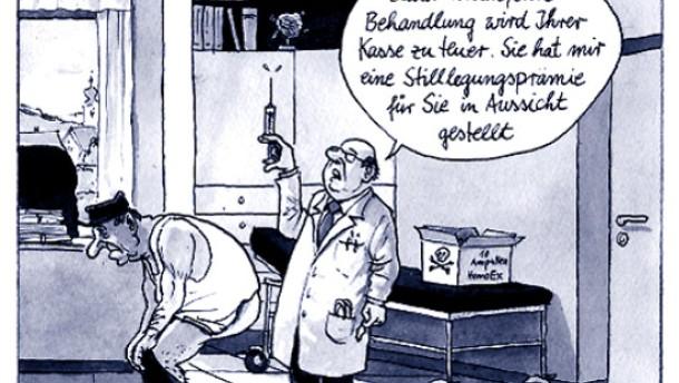 Karikatur / Greser & und Lenz / Gesundheitspolitik