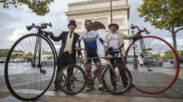 Per Fahrrad in fast 80 Tagen um die Welt