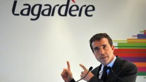 Lagardere-Aktien werden für Gewinnwarnung abgestraft