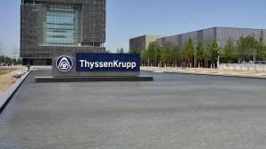 Thyssen-Krupp stoppt Geschäft mit dem Iran
