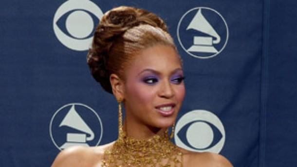 Beyoncé Knowles als große Grammy-Gewinnerin