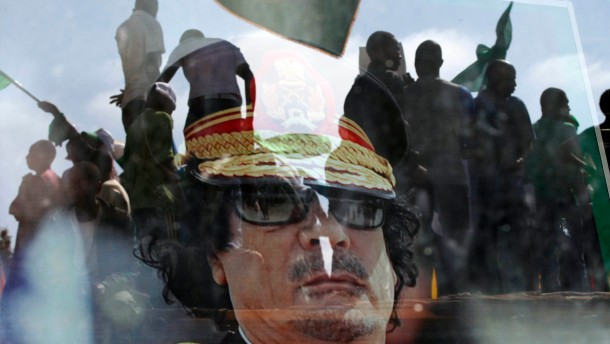 """""""Eine klare Botschaft an Gaddafi"""""""