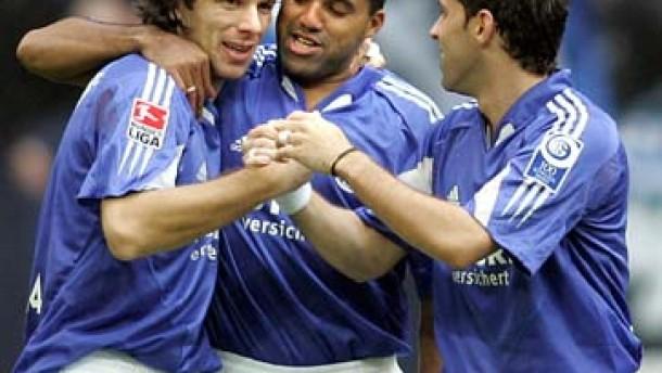 Traumstart und Zitterpartie für Schalke