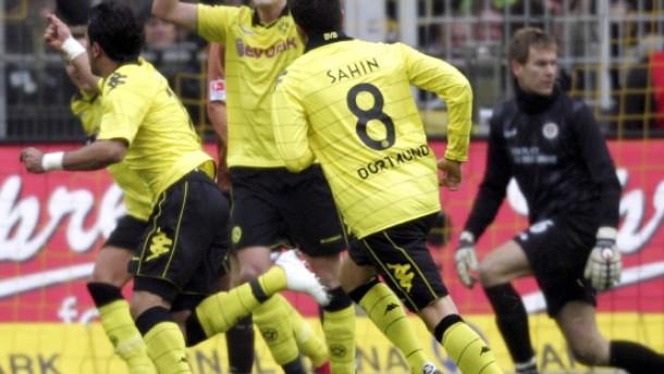 Dortmund besiegt das beste Rückrundenteam