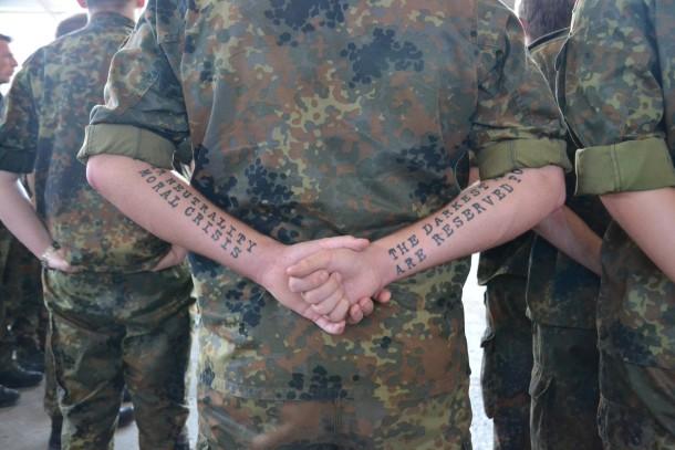 Bilderstrecke Zu Bundeswehr Stilfibel Soldaten Sind Gleich