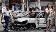 Mehrere Tote bei Selbstmordanschlag in Damaskus