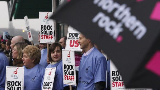 Immobilienbank Northern Rock wird verstaatlicht
