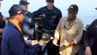 Fischer überlebt ohne Trinkwasser im Pazifik