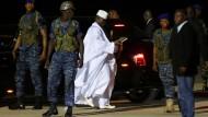 Gambias Staatskassen offenbar leer