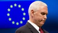 Amerika will Beziehungen zur EU vertiefen