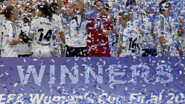 Frankfurt gewinnt Europapokal