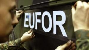 Aus Sfor wird Eufor