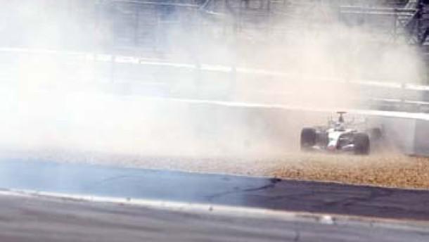 Räikkönens Blindflug belegt die Kurzsichtigkeit