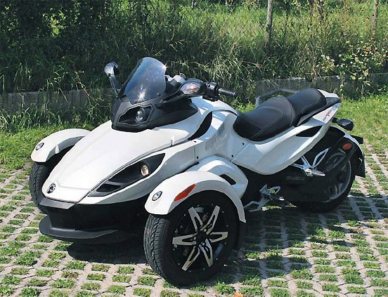 dreirad can am spyder man muss nicht alles haben auto verkehr faz. Black Bedroom Furniture Sets. Home Design Ideas