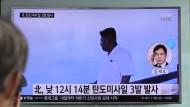 Kim Jong-un testet Raketen