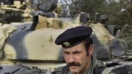 """Ein Soldat der """"Brigade 32"""""""